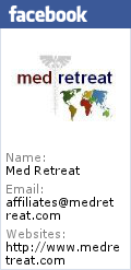 Med Retreat's Facebook profile