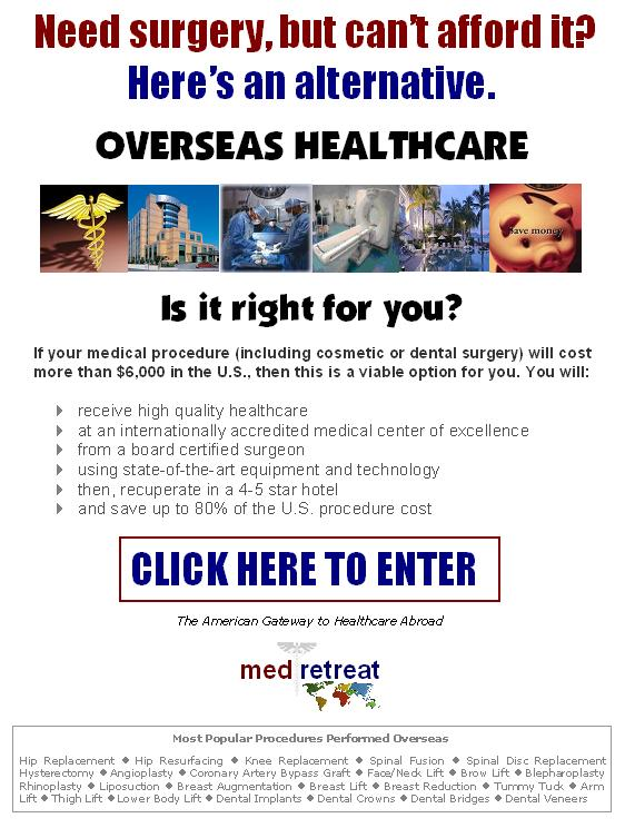 medical tourism surgery abroad